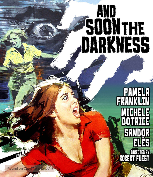 And Soon the Darkness - Blu-Ray movie cover