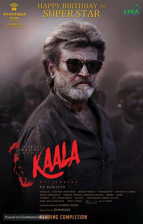 Kaala - Indian Movie Poster