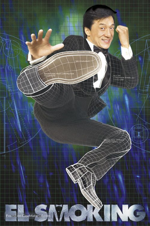 The Tuxedo - Spanish Movie Poster