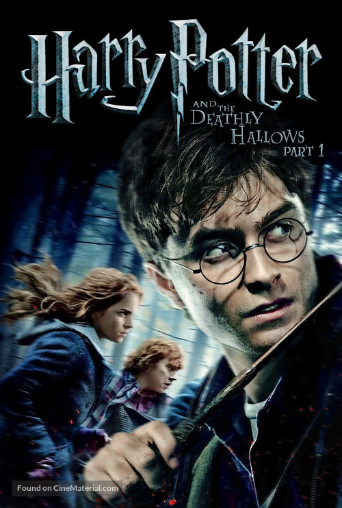 Harry Potter and the Deathly Hallows: Part I - DVD cover