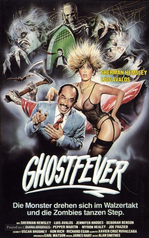 Ghost Fever - German VHS cover
