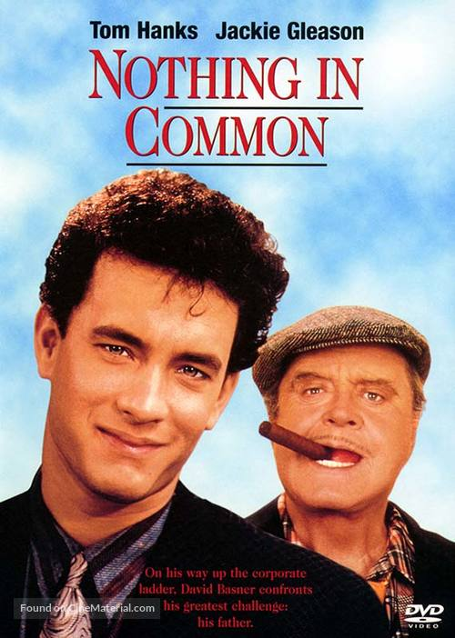 Nothing In Common - DVD cover