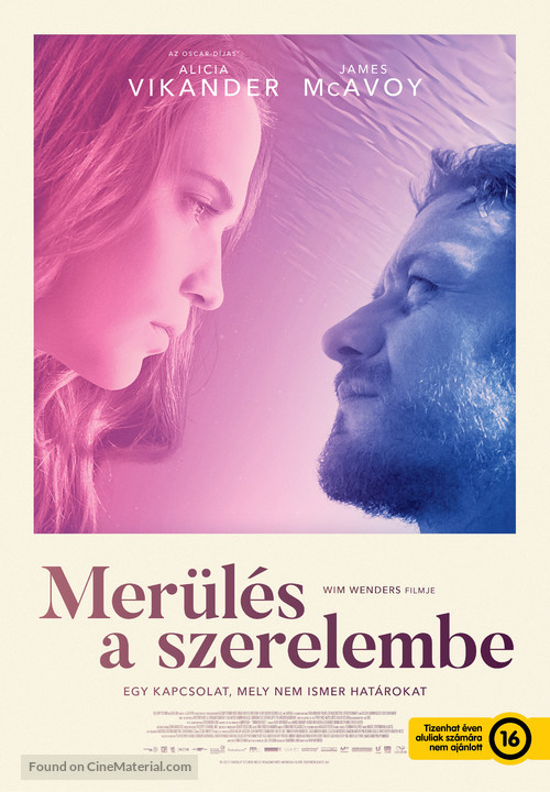 Submergence - Hungarian Movie Poster