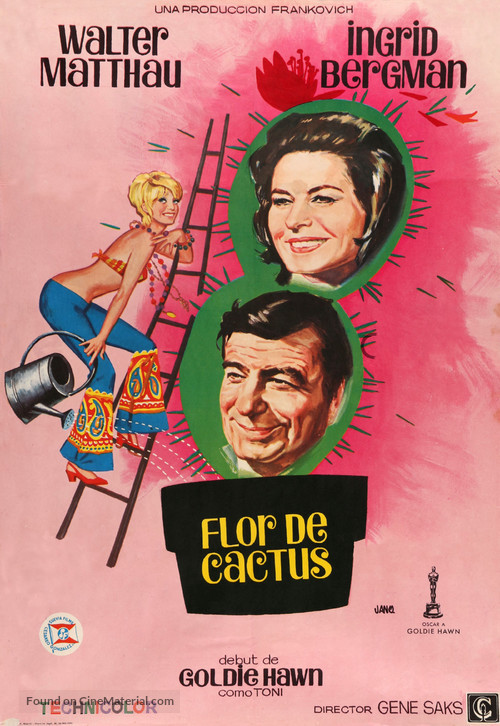 Cactus Flower - Spanish Movie Poster