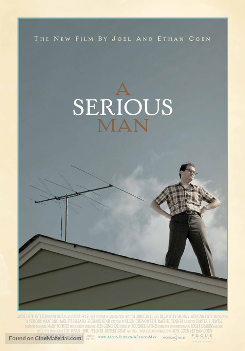 A Serious Man - Swiss Movie Poster