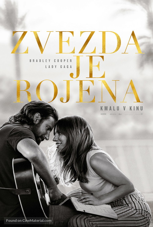A Star Is Born - Slovenian Movie Poster