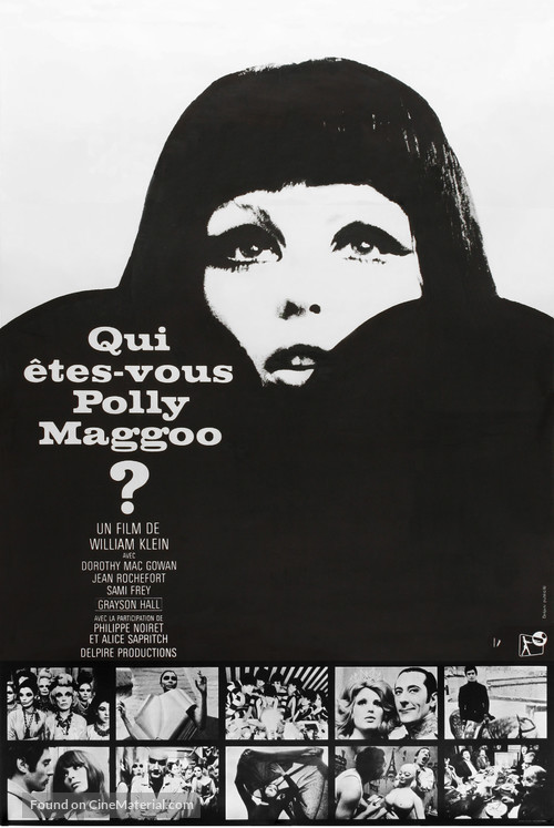 Qui êtes-vous, Polly Maggoo? - French Movie Poster