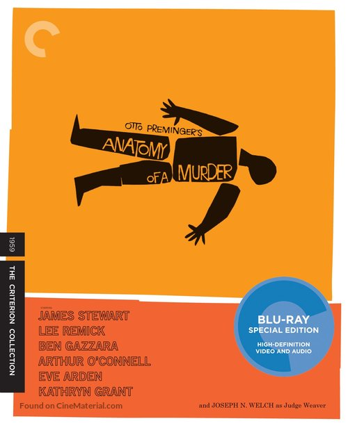Anatomy of a Murder - Blu-Ray cover