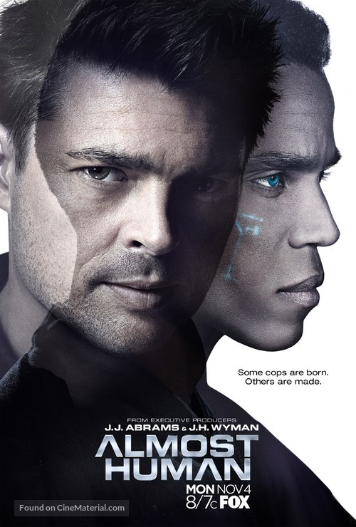 """""""Almost Human"""" - Movie Poster"""