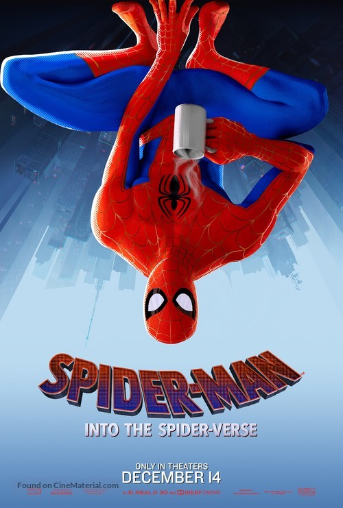Spider-Man: Into the Spider-Verse - Movie Poster