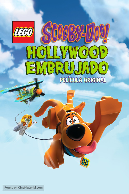 Lego Scooby-Doo!: Haunted Hollywood - Mexican Movie Cover