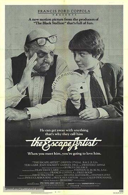 The Escape Artist - Movie Poster