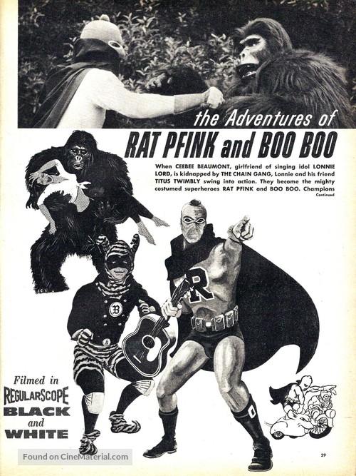 Rat Pfink a Boo Boo - Movie Poster
