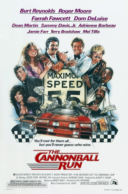 The Cannonball Run - Theatrical poster