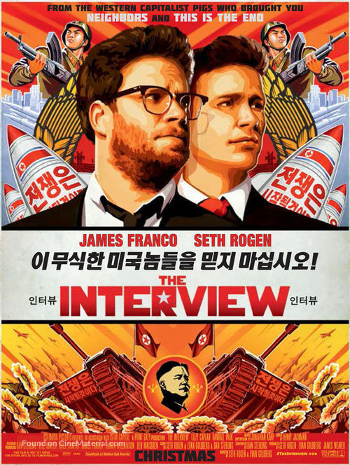 The Interview - Movie Poster