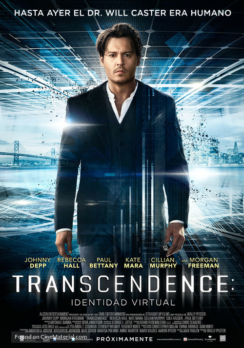 Transcendence - Argentinian Movie Poster