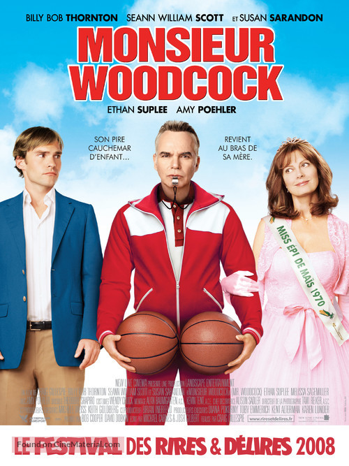 Mr. Woodcock - French Movie Poster