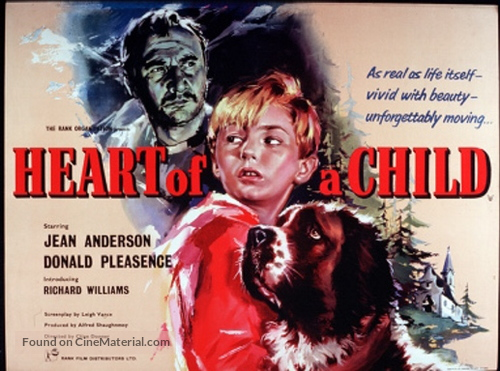 Heart of a Child - British Movie Poster