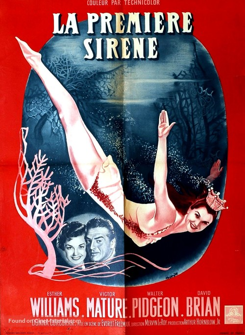 Million Dollar Mermaid - French Movie Poster