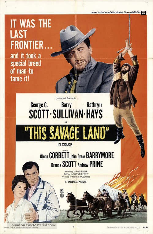 This Savage Land - Movie Poster