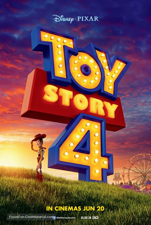 Toy Story 4 - Singaporean Movie Poster