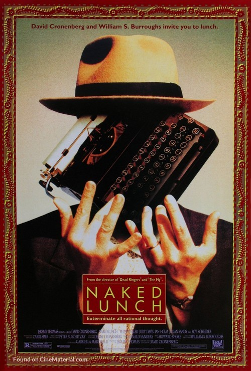 Naked Lunch - Movie Poster