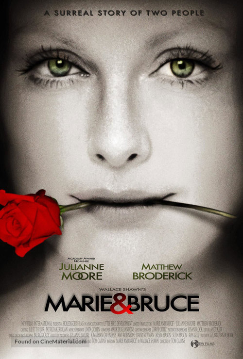 Marie And Bruce - Movie Poster