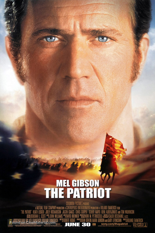 The Patriot - Movie Poster