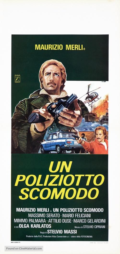 Un poliziotto scomodo - Italian Movie Poster
