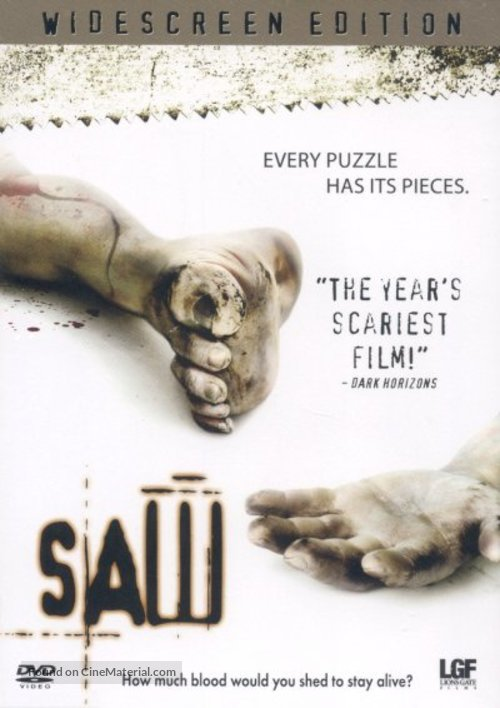 Saw - Movie Cover