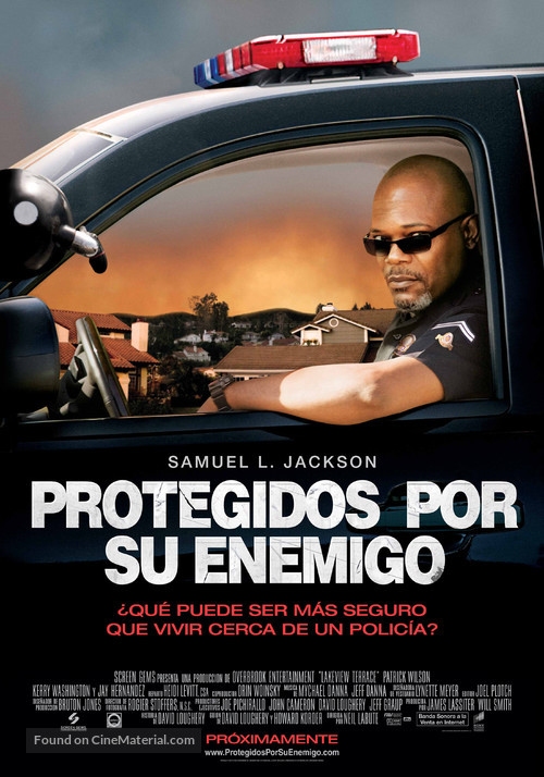 Lakeview Terrace - Spanish Movie Poster