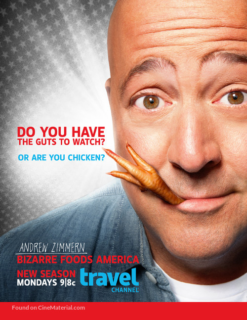 """Bizarre Foods with Andrew Zimmern"" - Movie Poster"