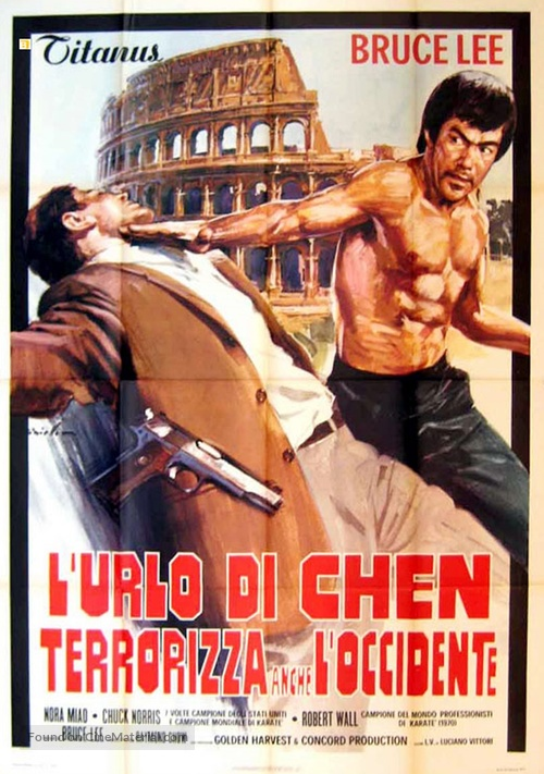Meng long guo jiang - Italian Movie Poster