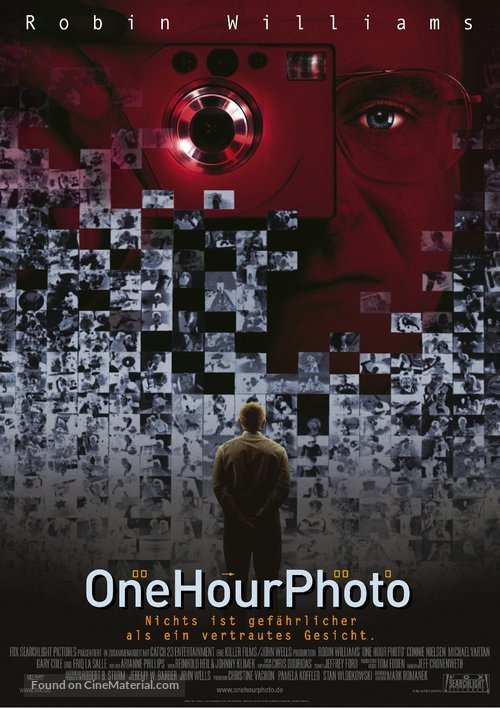One Hour Photo - German Movie Poster