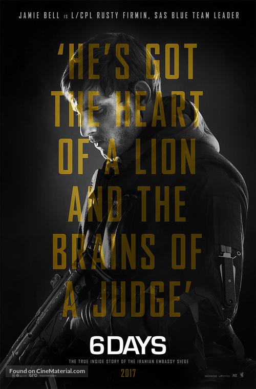 6 Days - British Movie Poster