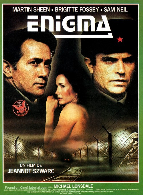 Enigma - French Movie Poster