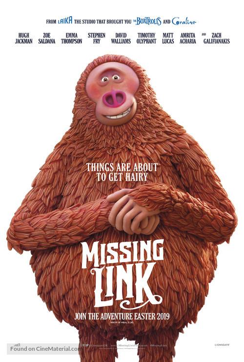 Missing Link - British Movie Poster