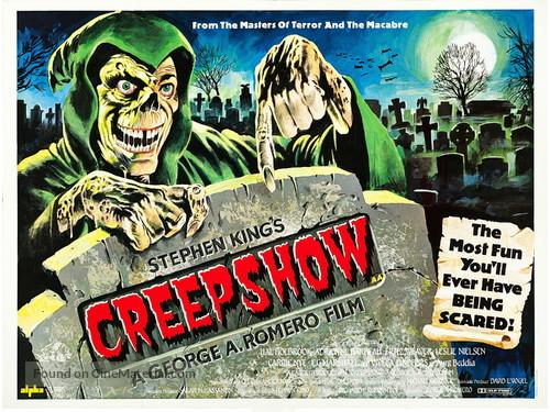 Creepshow (1982) British movie poster