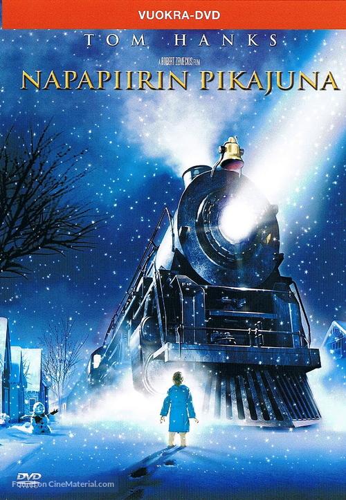 The Polar Express - Finnish DVD movie cover