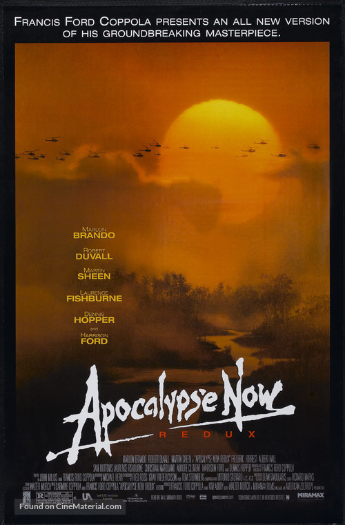 Apocalypse Now - Re-release poster