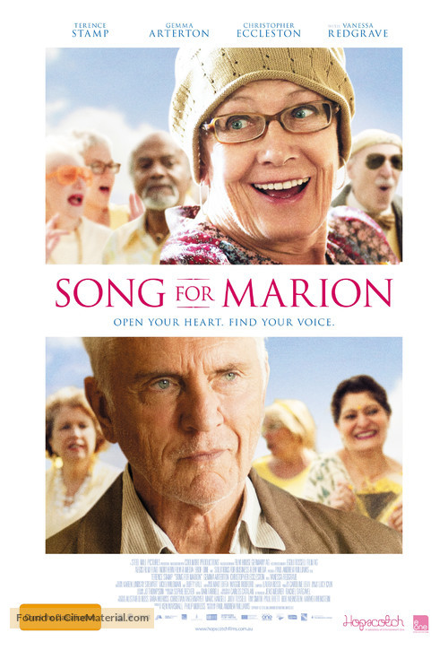 Song for Marion - Australian Movie Poster