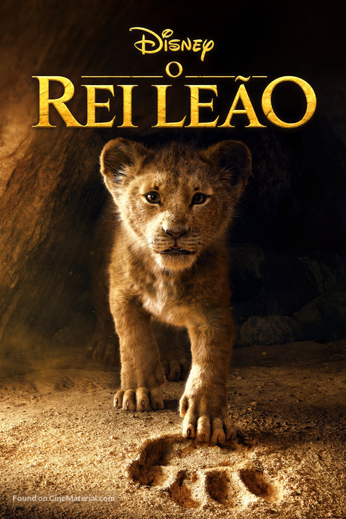 The Lion King - Brazilian Movie Cover
