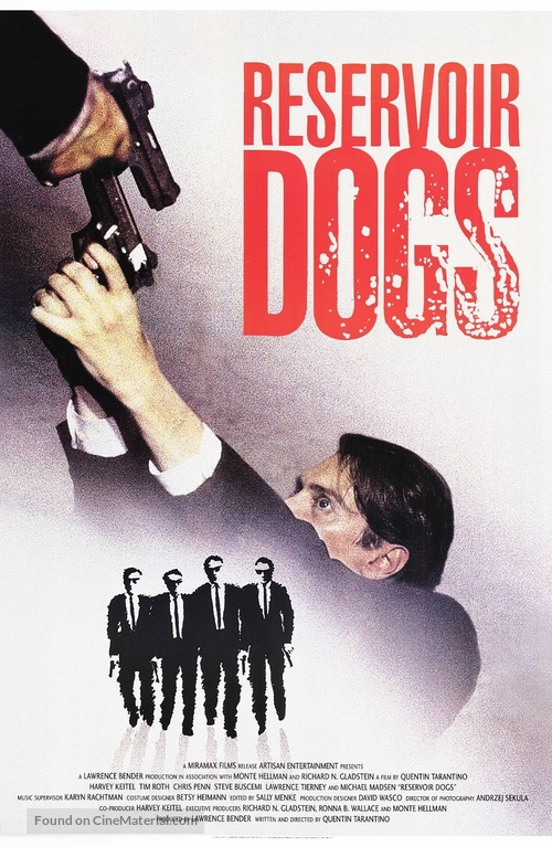 Reservoir Dogs - Movie Poster