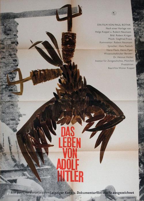 Das Leben von Adolf Hitler - German Movie Poster