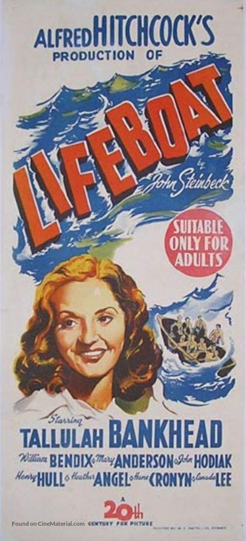 Lifeboat - Australian Movie Poster