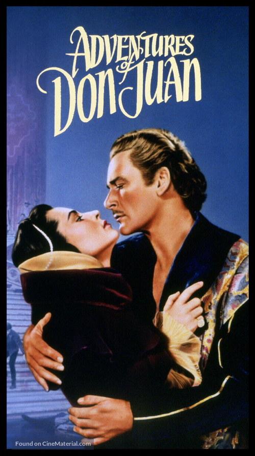Adventures of Don Juan - Movie Poster