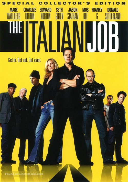 The Italian Job - Movie Cover