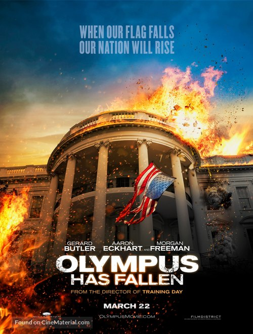 Olympus Has Fallen - Movie Poster