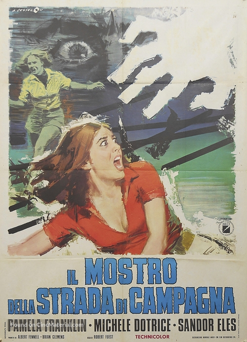 And Soon the Darkness - Italian Movie Poster