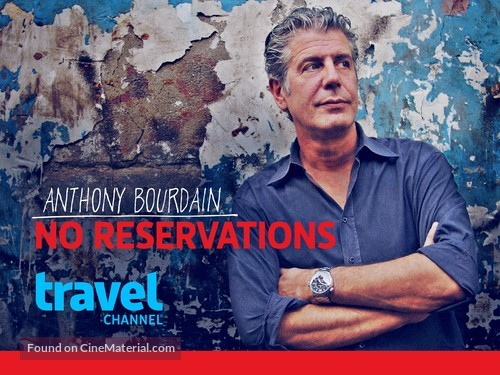 """Anthony Bourdain: No Reservations"" - Video on demand movie cover"